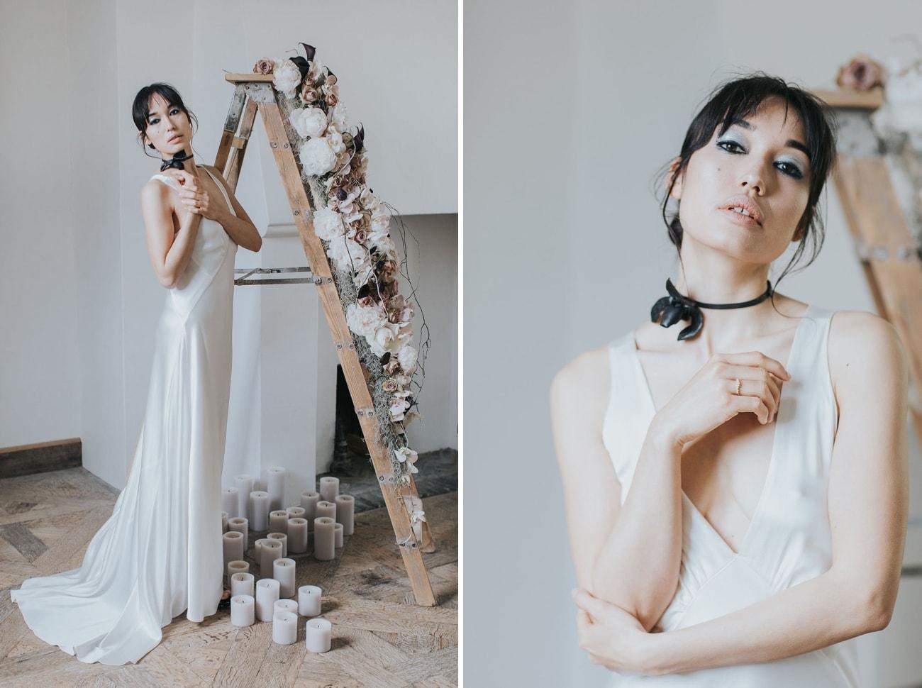 Silver Bridal Make Up | Credit: Cornelia Lietz