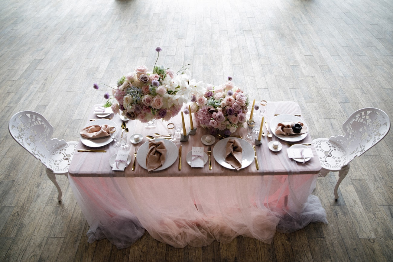 Romantic Iridescent Wedding Tablescape | Credit: Jessica Notelo (17)