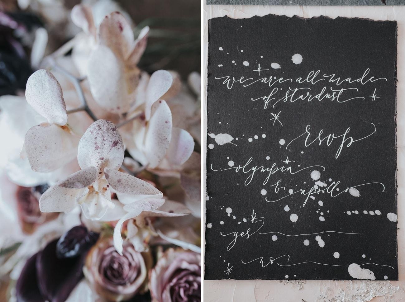 Orchids & Calligraphy | Credit: Cornelia Lietz