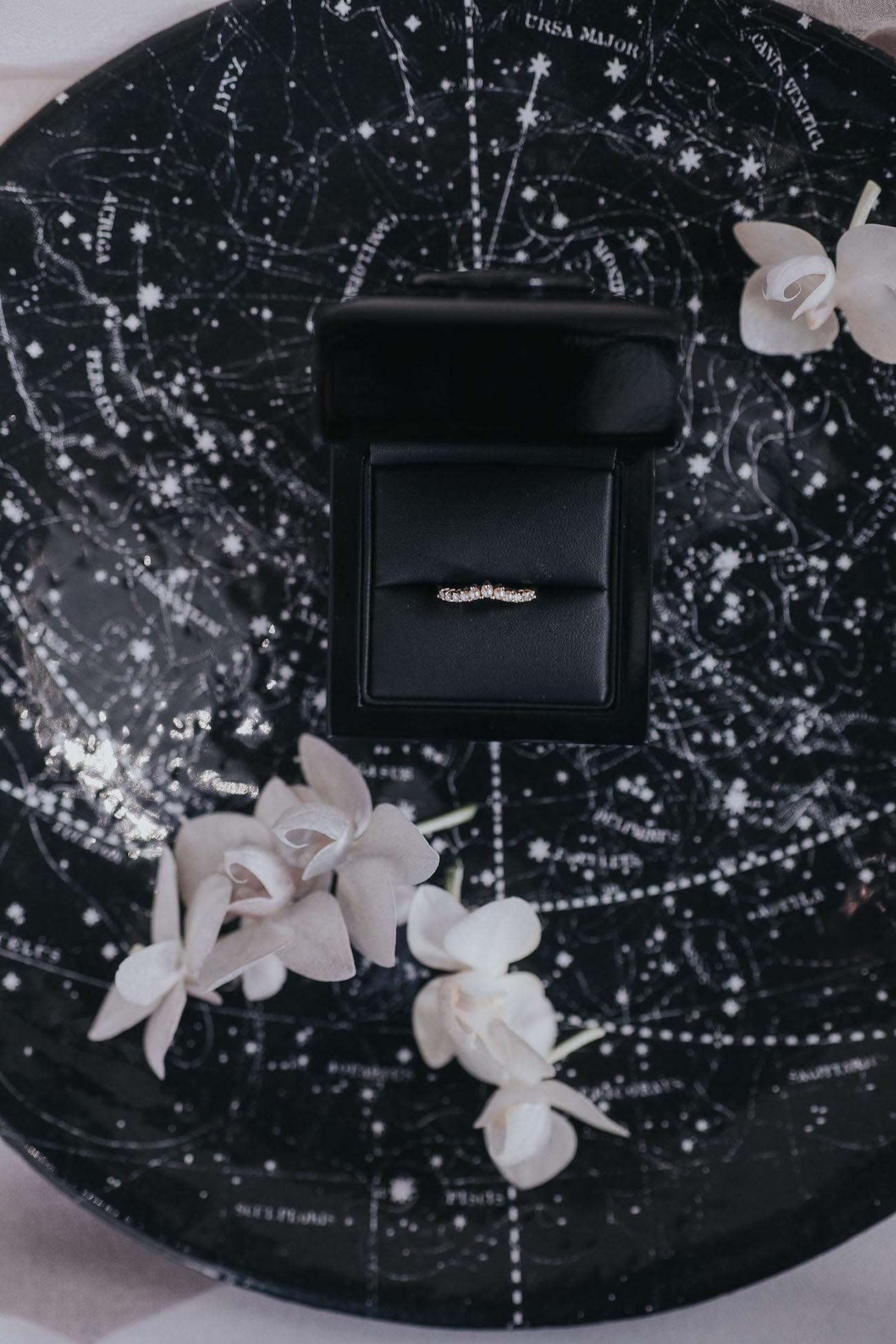 Astronomy Themed Wedding Inspiration | Credit: Cornelia Lietz