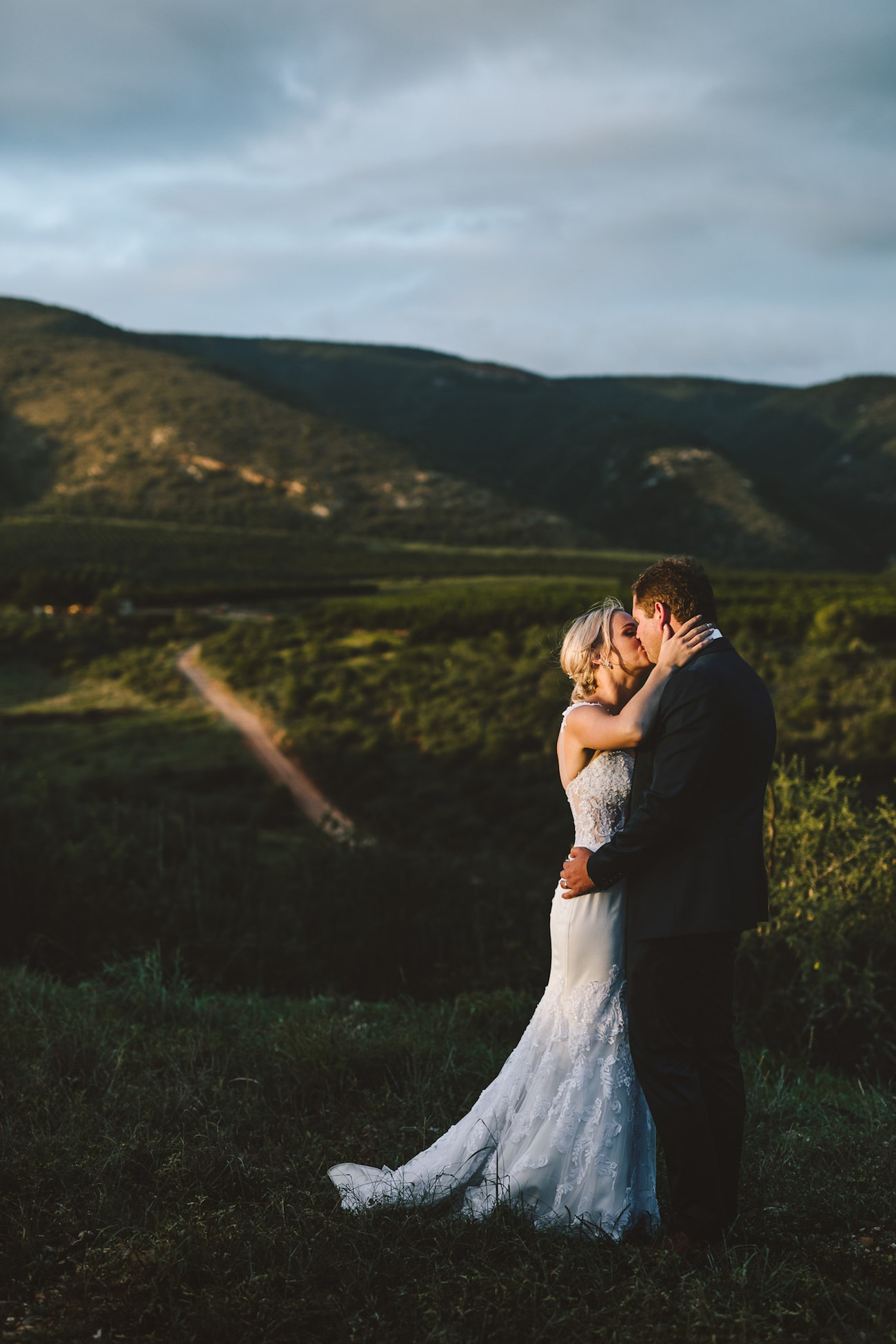 Lace Wedding Dress | Credit: Charlie Ray Photography