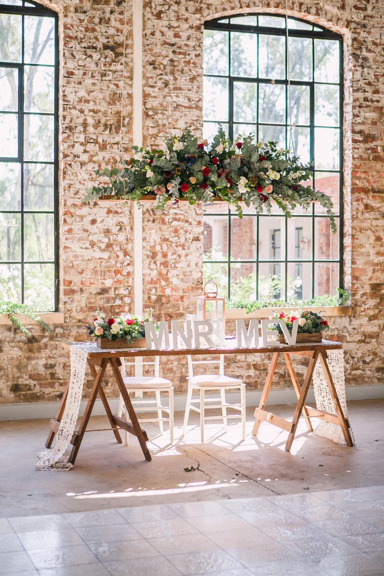 Sweetheart Table | Joyous Jewel Tone Winter Wedding | Credit: Dust and Dreams Photography