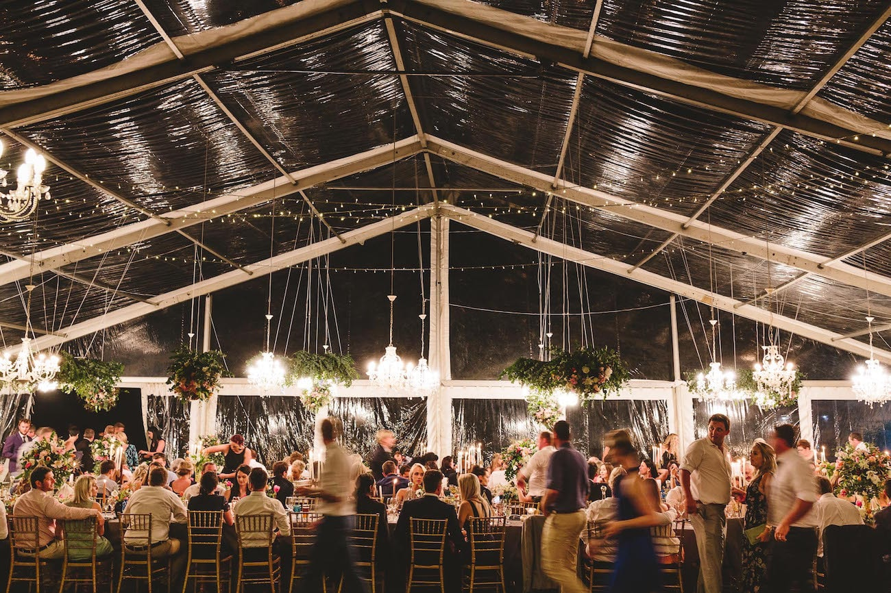 Clear Marquee Wedding   Credit: Charlie Ray Photography