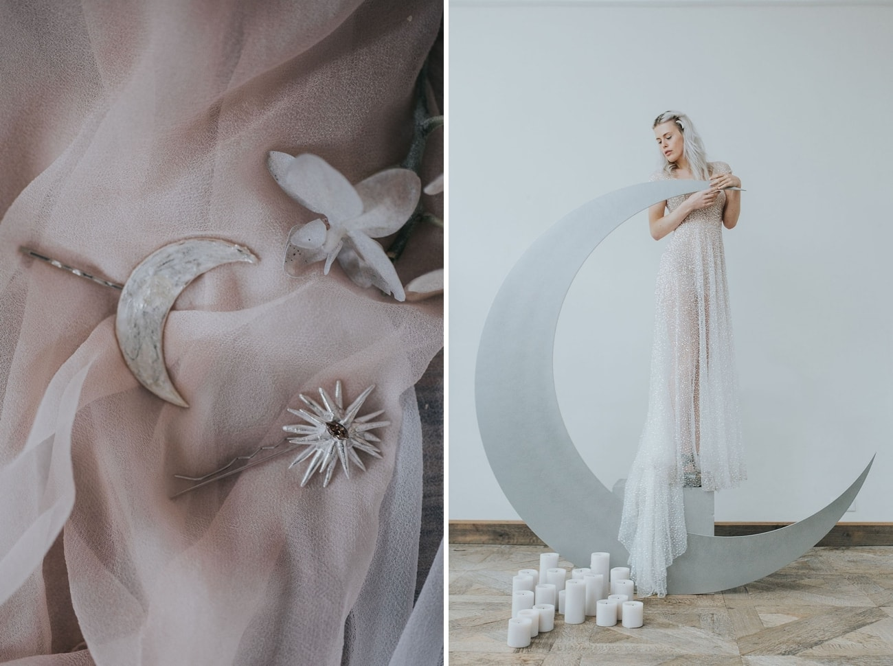 Celestial Bridal Accessories | Credit: Cornelia Lietz