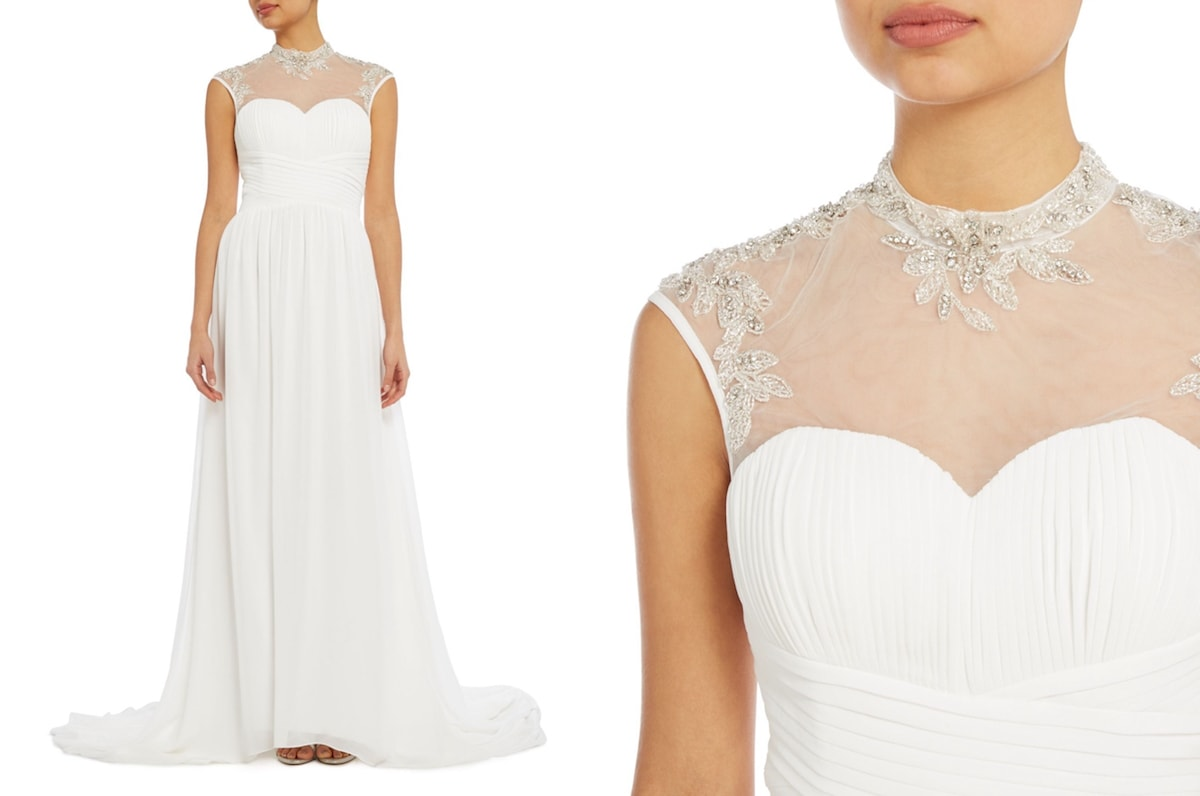 10 Dreamy Wedding Dresses Under 163 500 From House Of Fraser 009 Southbound Bride