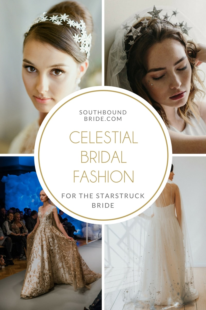 20 Celestial Wedding Dresses & Bridal Accessories | SouthBound Bride
