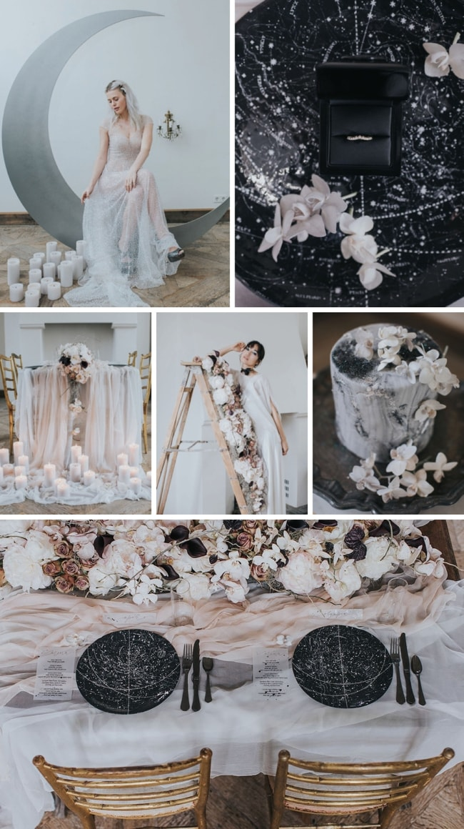 Celestial Romance Wedding Inspiration by Cornelia Lietz & Kiss from Fleur | SouthBound Bride