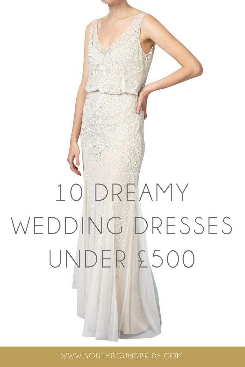 a193b01674 10 Dreamy Wedding Dresses Under £500