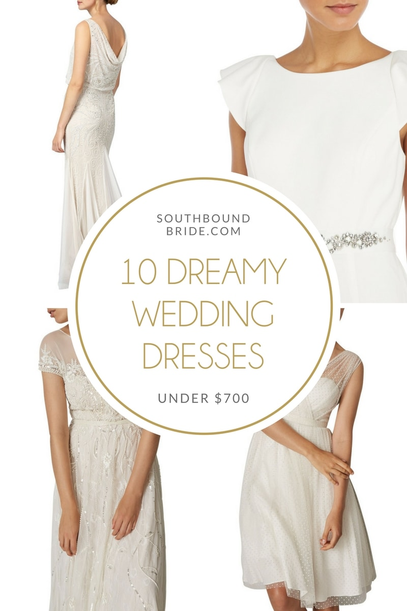 10 Dreamy Wedding Dresses Under £500 | SouthBound Bride