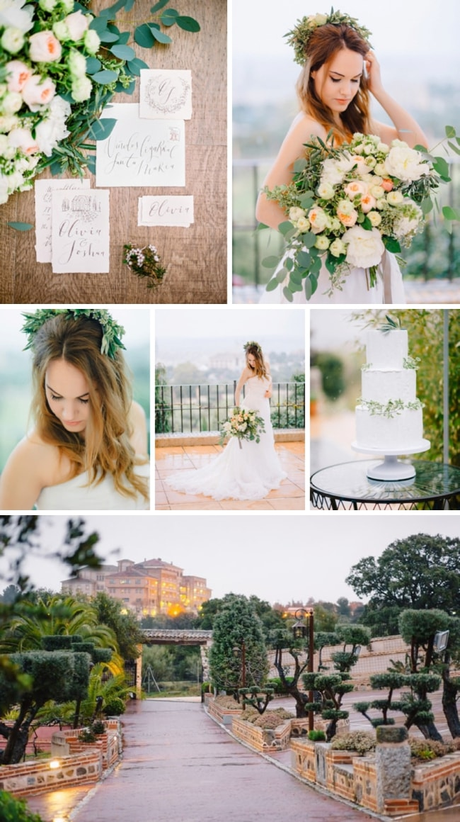 Romantic Spanish Wedding Inspiration by Buenas Photos & Natalia Ortiz | SouthBound Bride