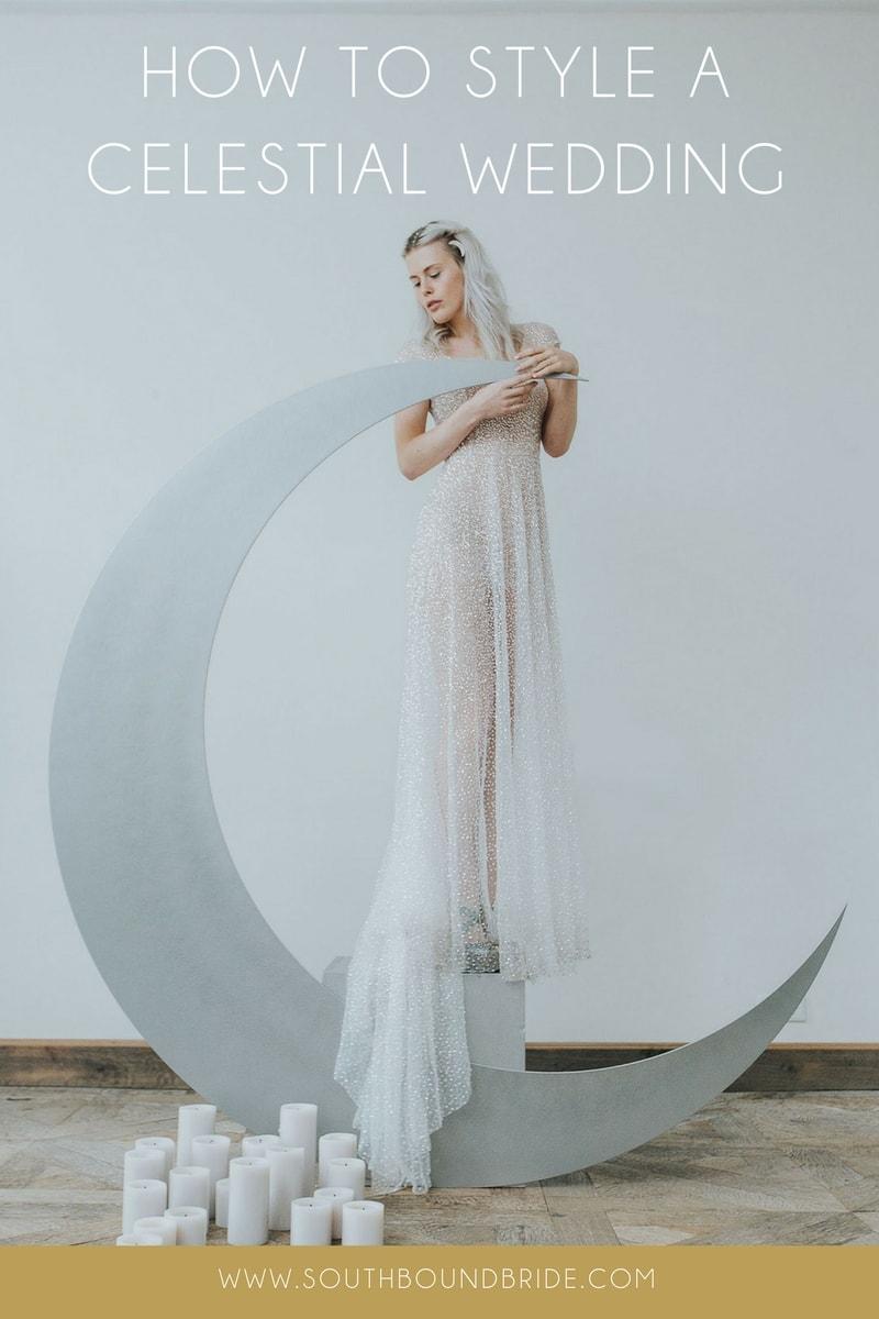 Celestial Wedding Theme Details | SouthBound Bride (1)
