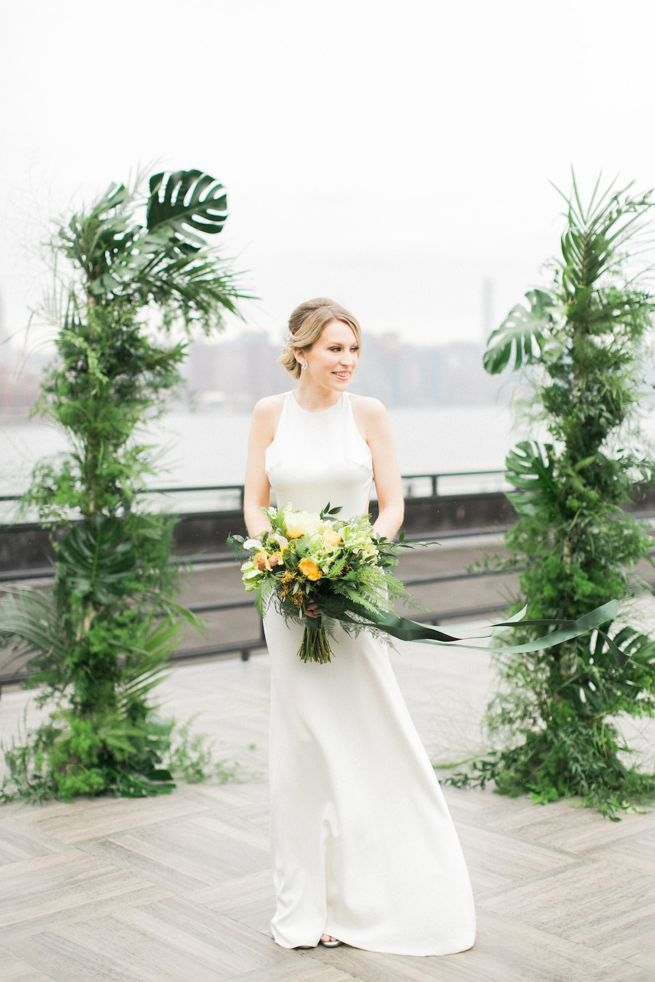 Tropical Transparency Wedding Inspiration Styled Shoot | Credit: Ruth Eileen Photography