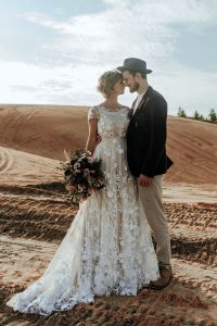 Sheer Wedding Dresses