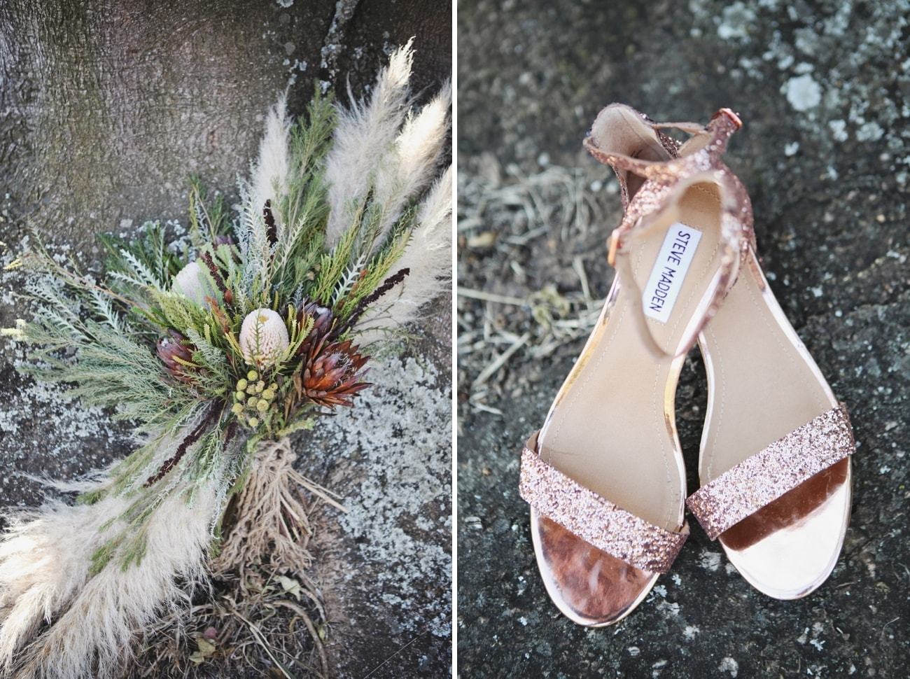 Rose Gold Wedding Shoes | Credit: Carmen Roberts (2)