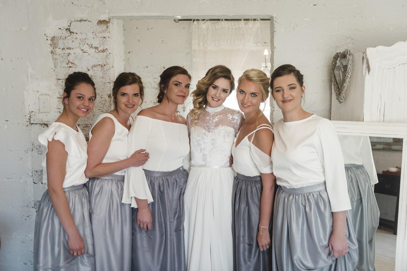 Bridesmaid Separates Mismatched Tops | Credit: Wynand van der Merwe (6)