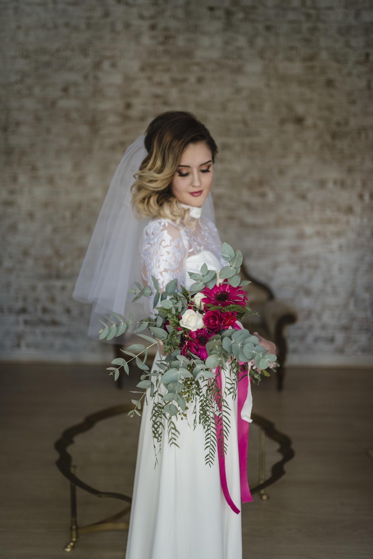 Jewel Toned Bouquet | Credit: Wynand van der Merwe (7)