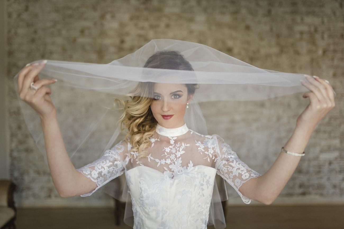 High Neck Lace Wedding Dress | Credit: Wynand van der Merwe (8)