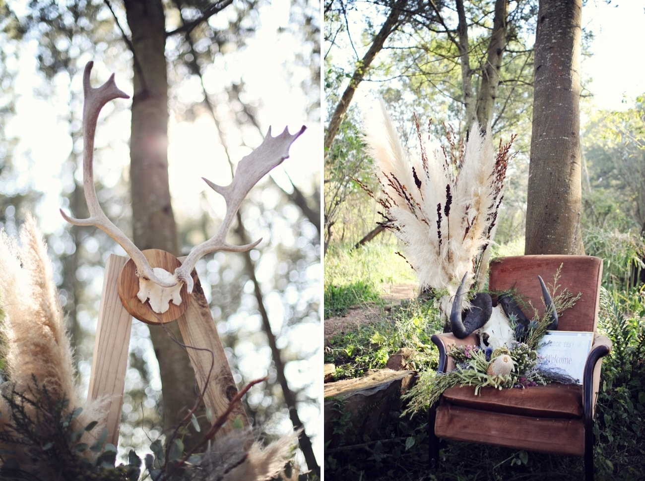 Boho Luxe Forest Wedding | Credit: Carmen Roberts (9)