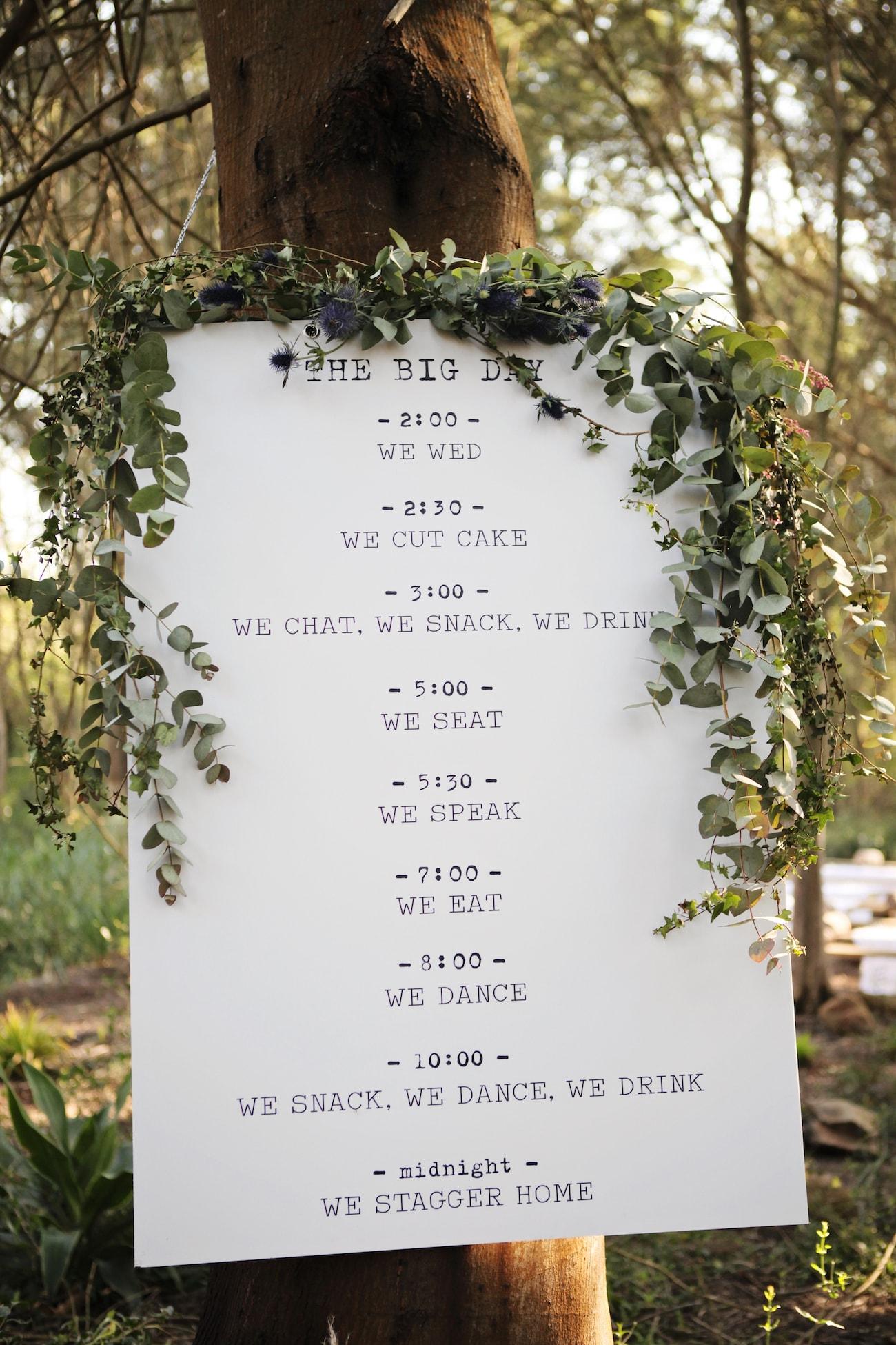 Typewriter Font Wedding Style | Credit: Carmen Roberts (10)
