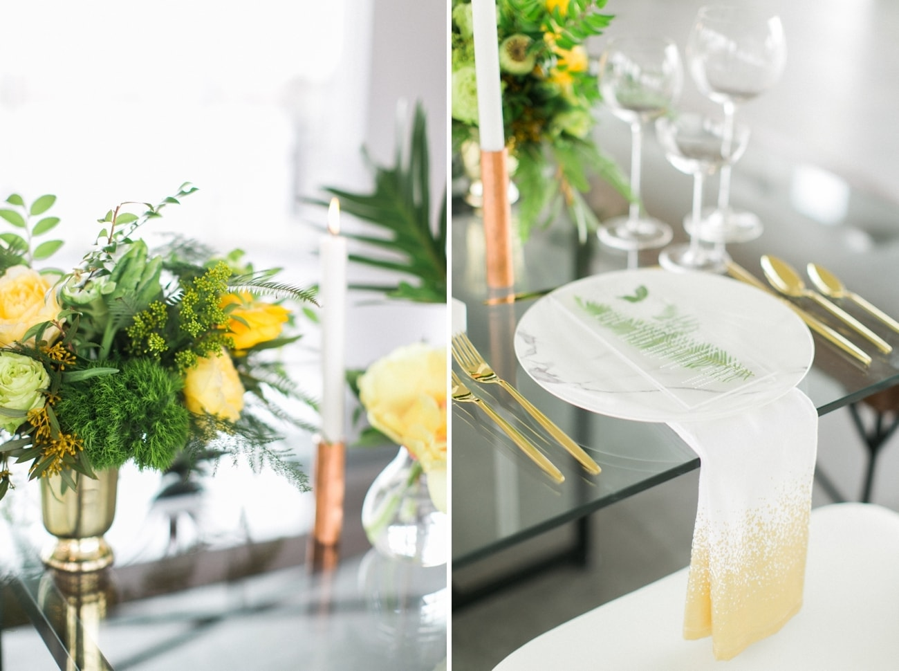 Tropical Transparency Wedding Inspiration | Credit: Ruth Eileen Photography