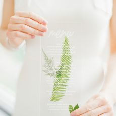 Tropical Transparency Wedding Inspiration