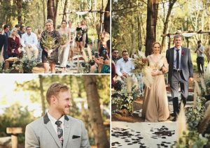 Boho Luxe Forest Wedding | Credit: Carmen Roberts (12)