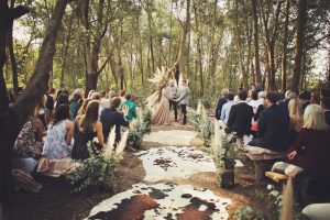 Boho Luxe Forest Wedding | Credit: Carmen Roberts (13)