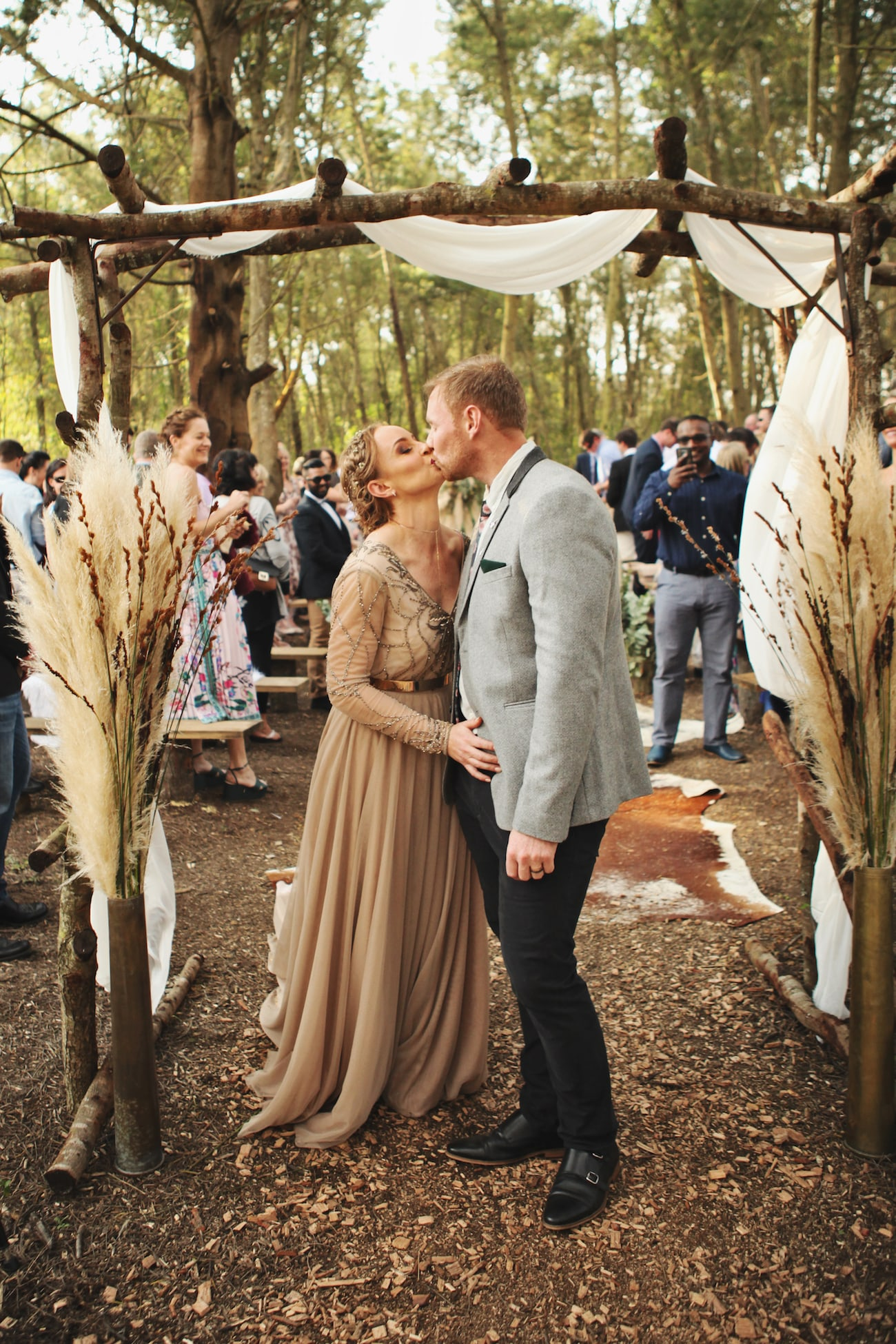 South African Winter Forest Wedding | Credit: Carmen Roberts (14)