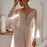 20 Chic & Sheer Wedding Dresses