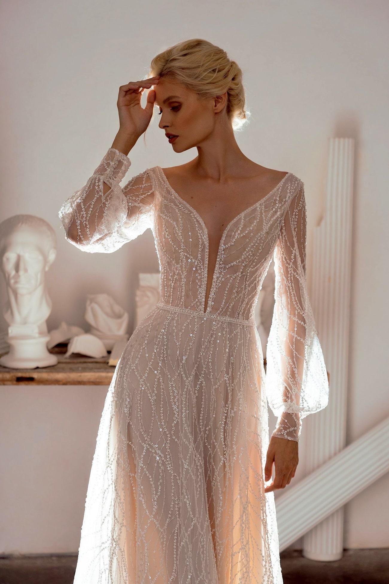 Sheer Wedding Dresses