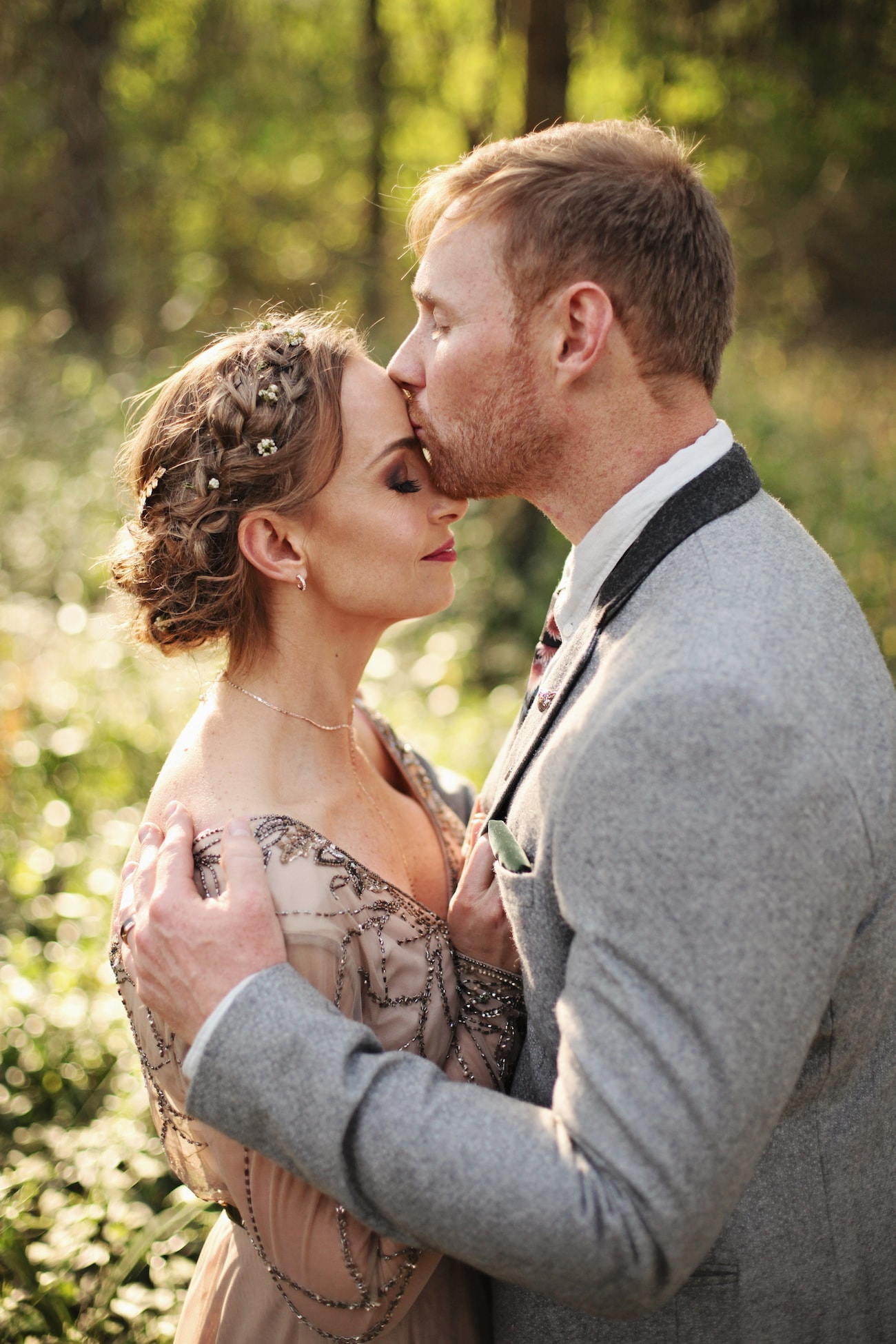 A Boho Luxe Forest Wedding with a Game of Thrones Vibe and ...