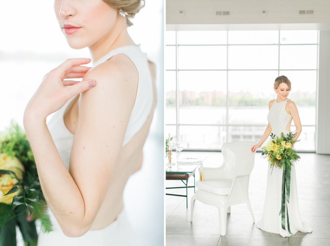Sarah Seven Wedding Dress | Credit: Ruth Eileen Photography