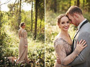 Boho Luxe Forest Wedding | Credit: Carmen Roberts (19)