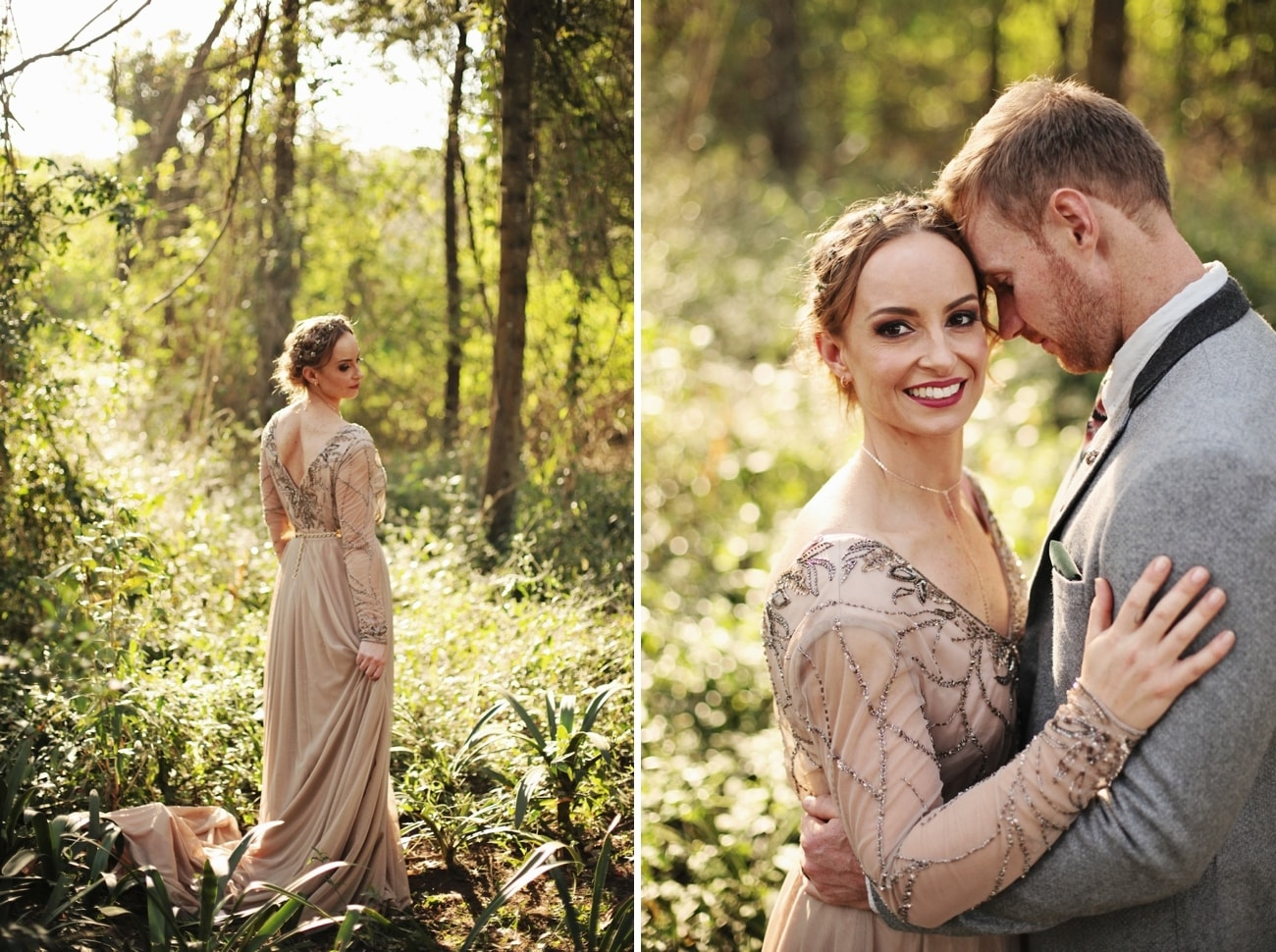 Boho Luxe Forest Wedding | Credit: Carmen Roberts (19)