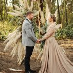 Boho Luxe Forest Wedding at Shalwyn by Oh Happy Day and Carmen Roberts