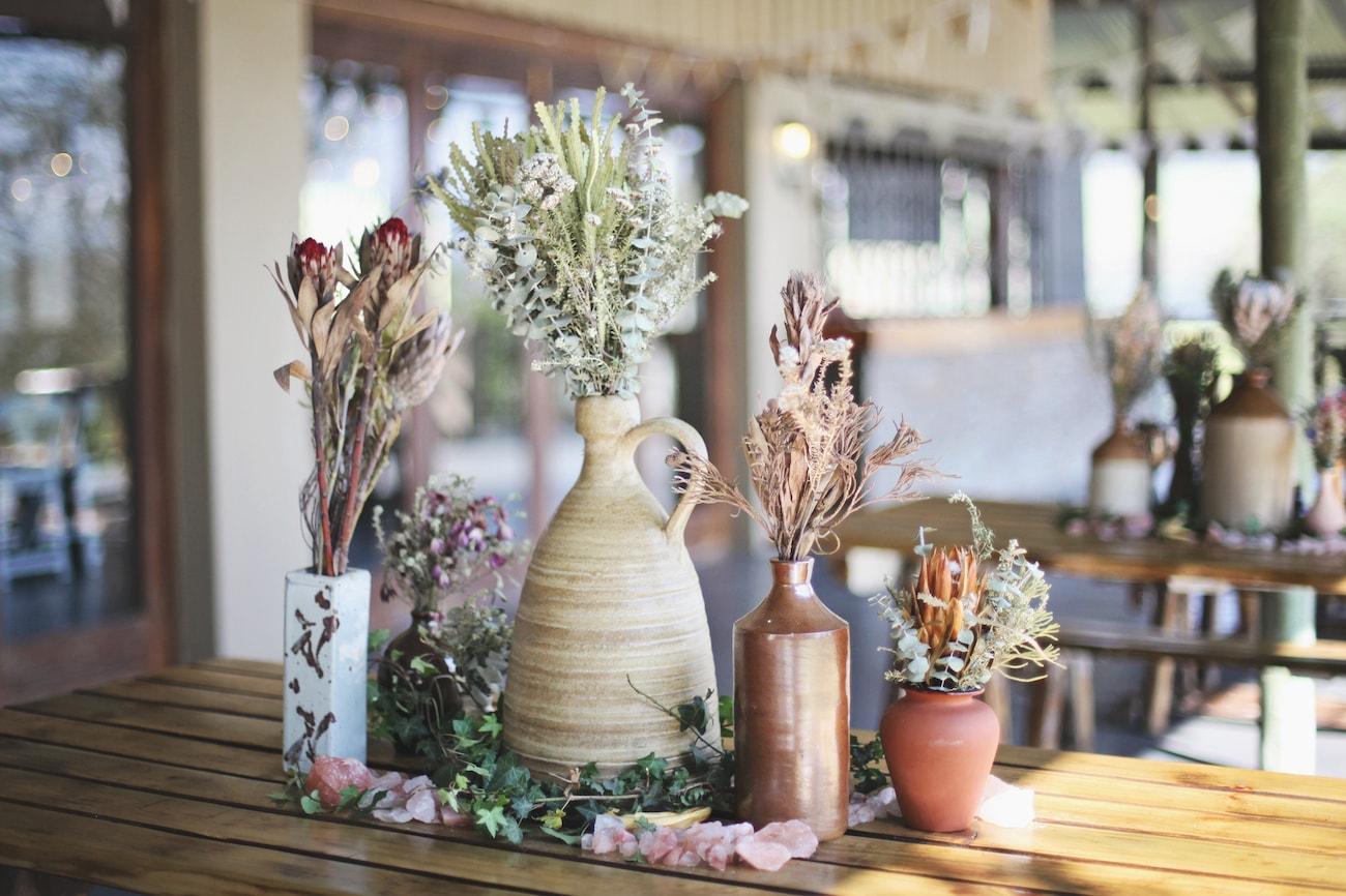 Mismatched Rustic Vases | Credit: Carmen Roberts (23)