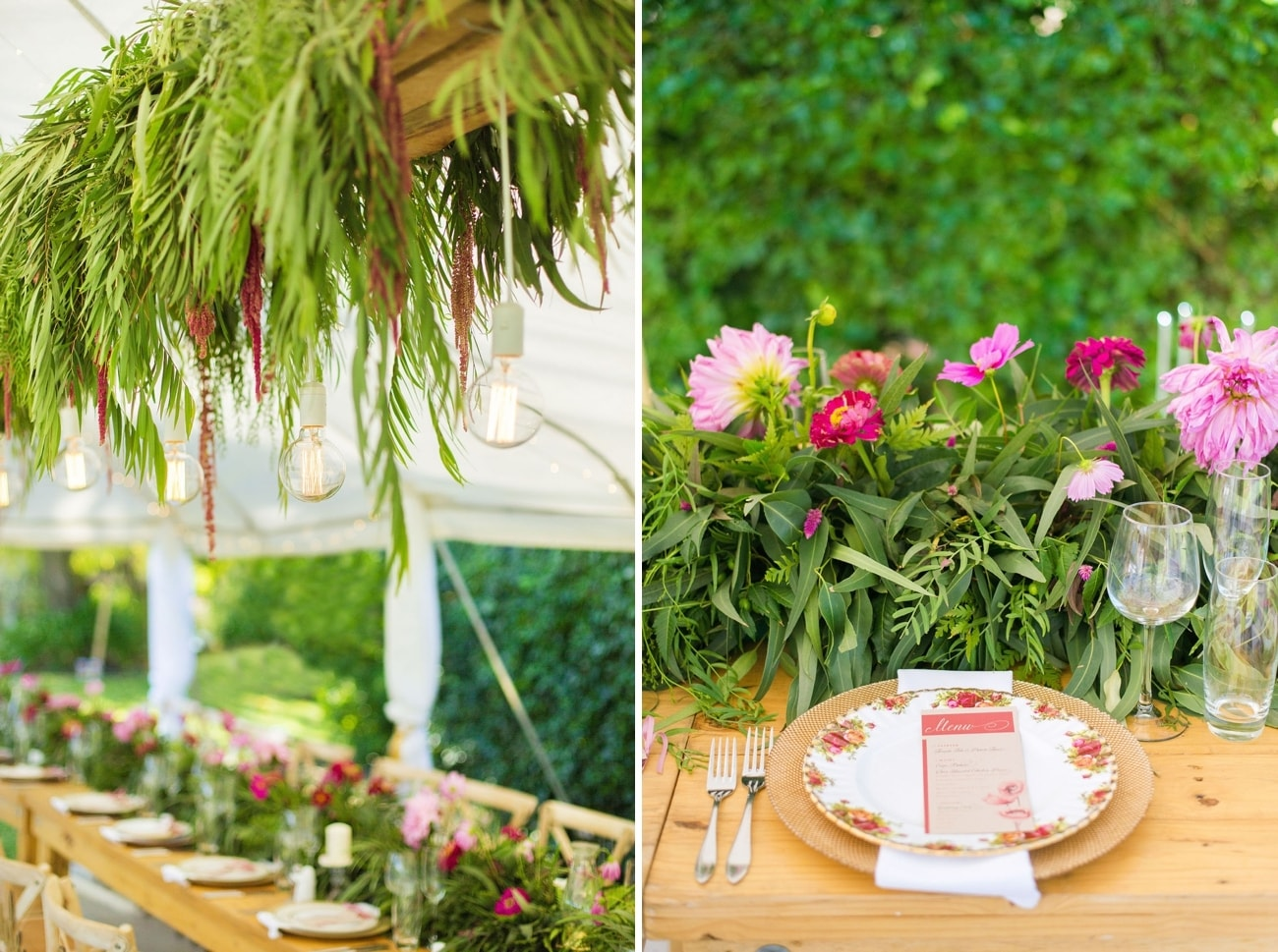 Lush Secret Garden Wedding | Credit: Sonje Ludwick (23)
