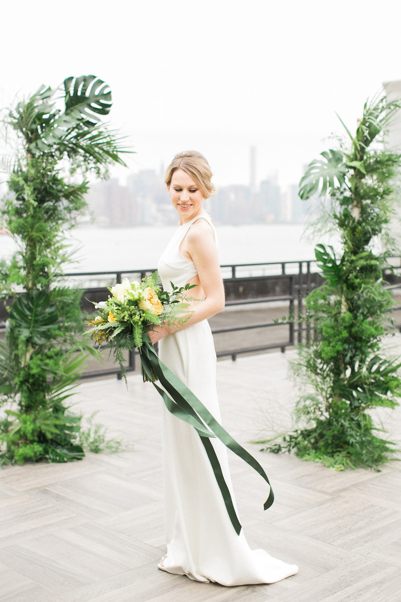 Tropical Greenery Arch | Credit: Ruth Eileen Photography