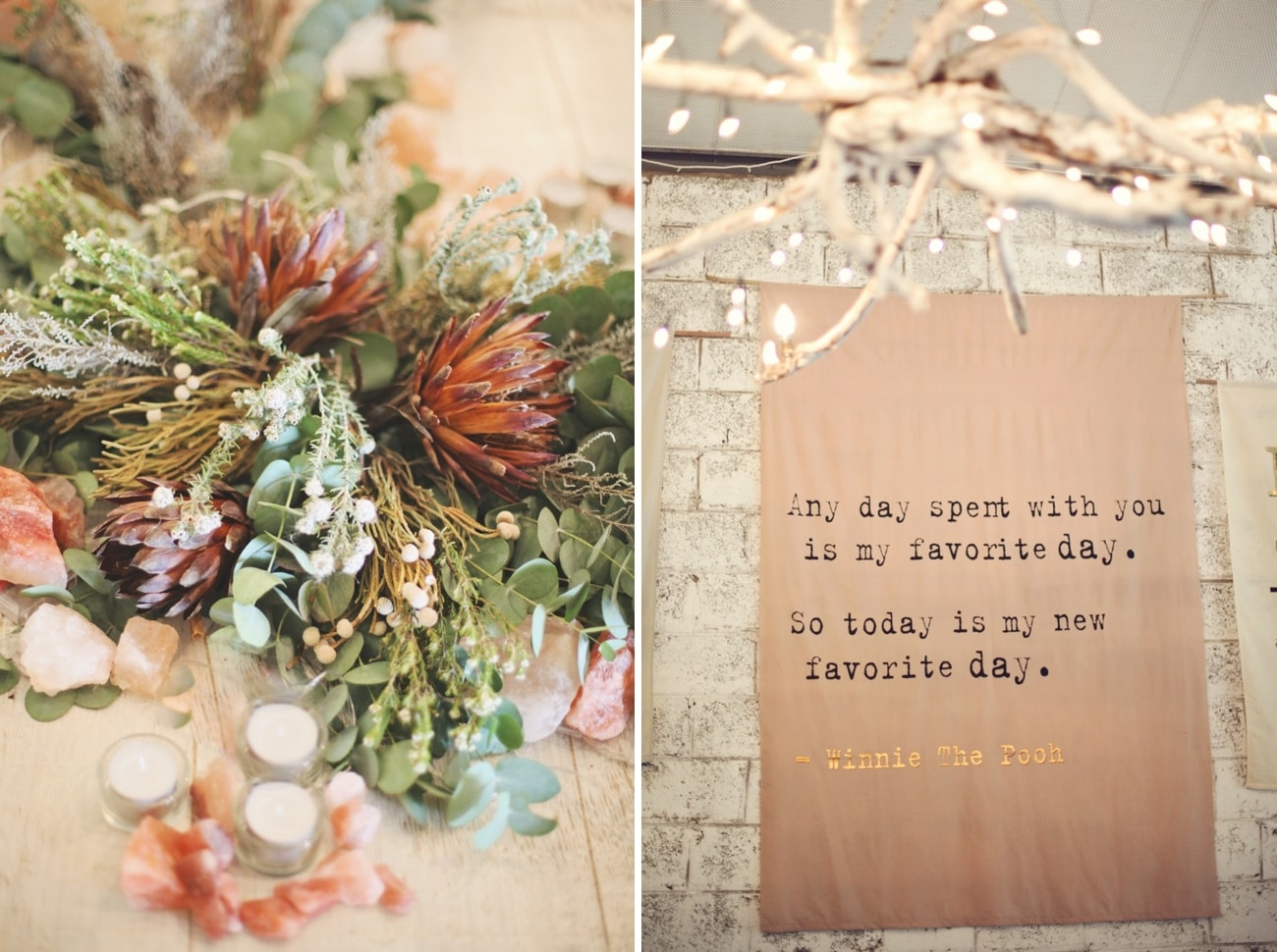 Boho Luxe Forest Wedding | Credit: Carmen Roberts (31)