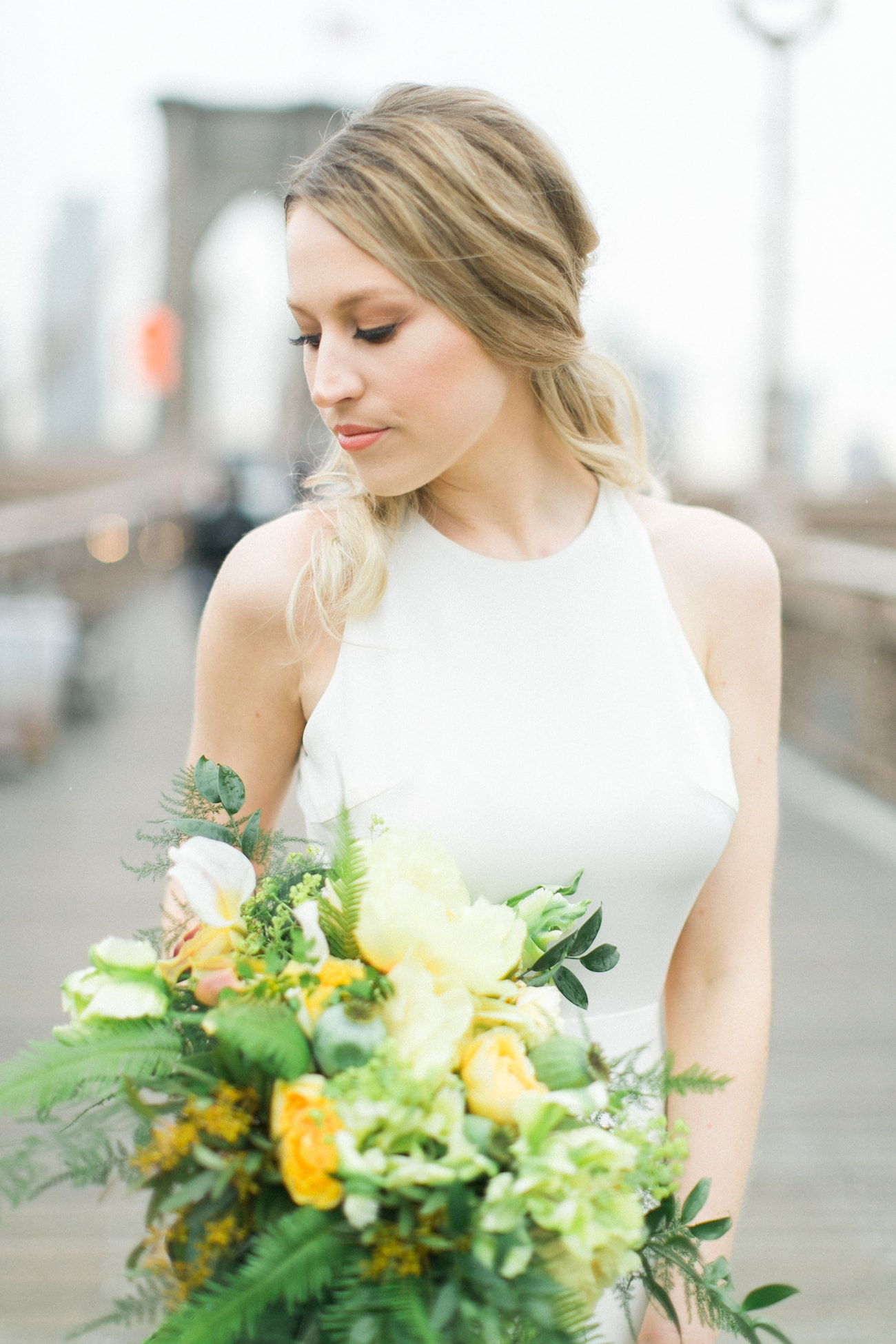 Minimalist Wedding Dress | Credit: Ruth Eileen Photography