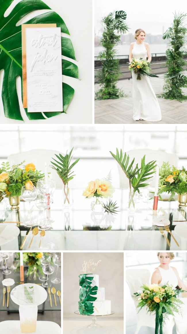 Tropical Transparency Wedding Inspiration by Ruth Eileen Photography & CCL Weddings And Events | SouthBound Bride