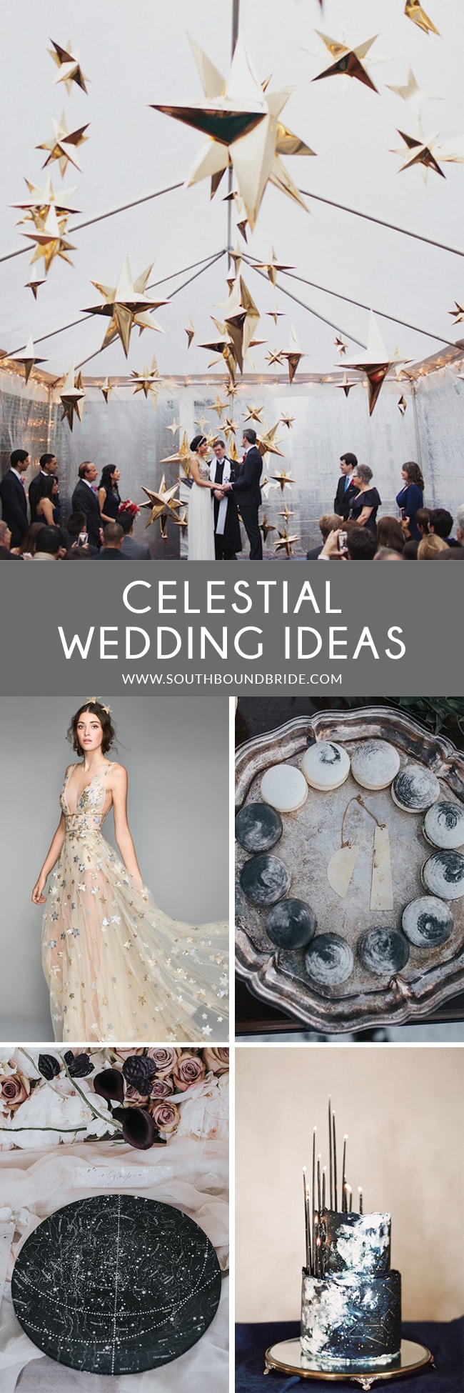 Celestial Wedding Ideas | SouthBound Bride