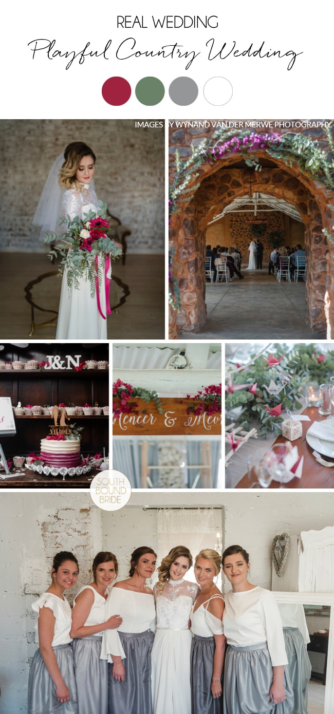 Playful Country Wedding by Wynand van der Merwe | SouthBound Bride