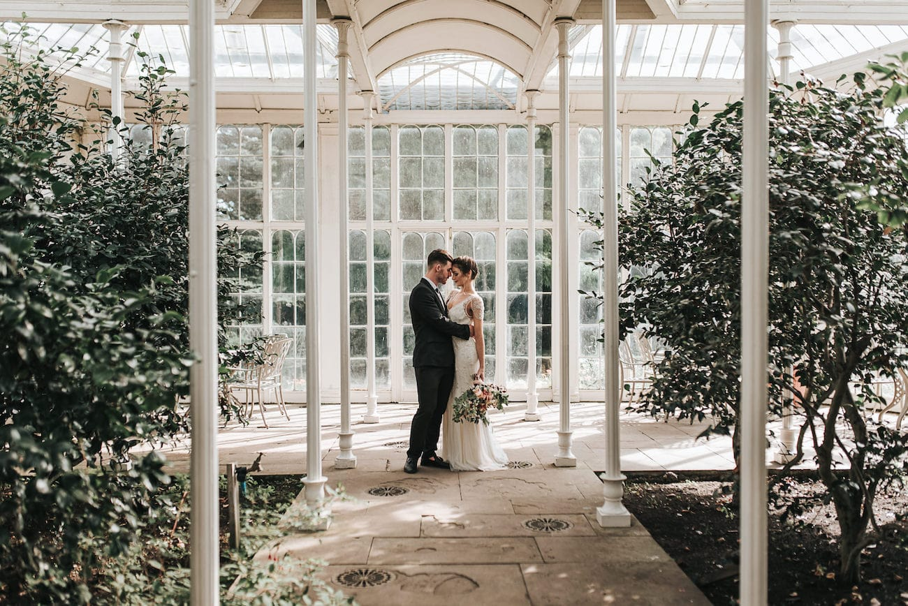 Greenhouse Romance Wedding Inspiration | Image: Pear & Bear Photography