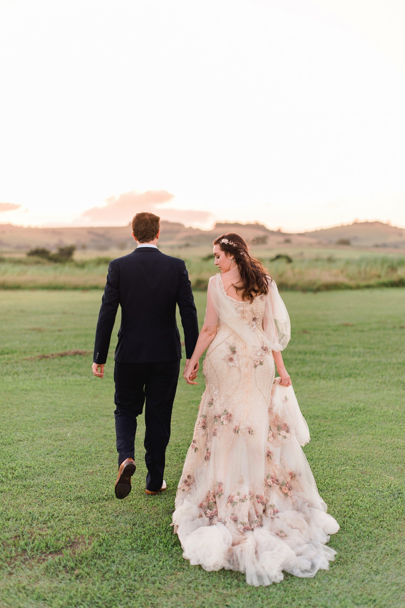 Magical Midsummer Night's Dream Inspired Wedding with a McCarthy Wolff Dress | Image: Roxanne Davison