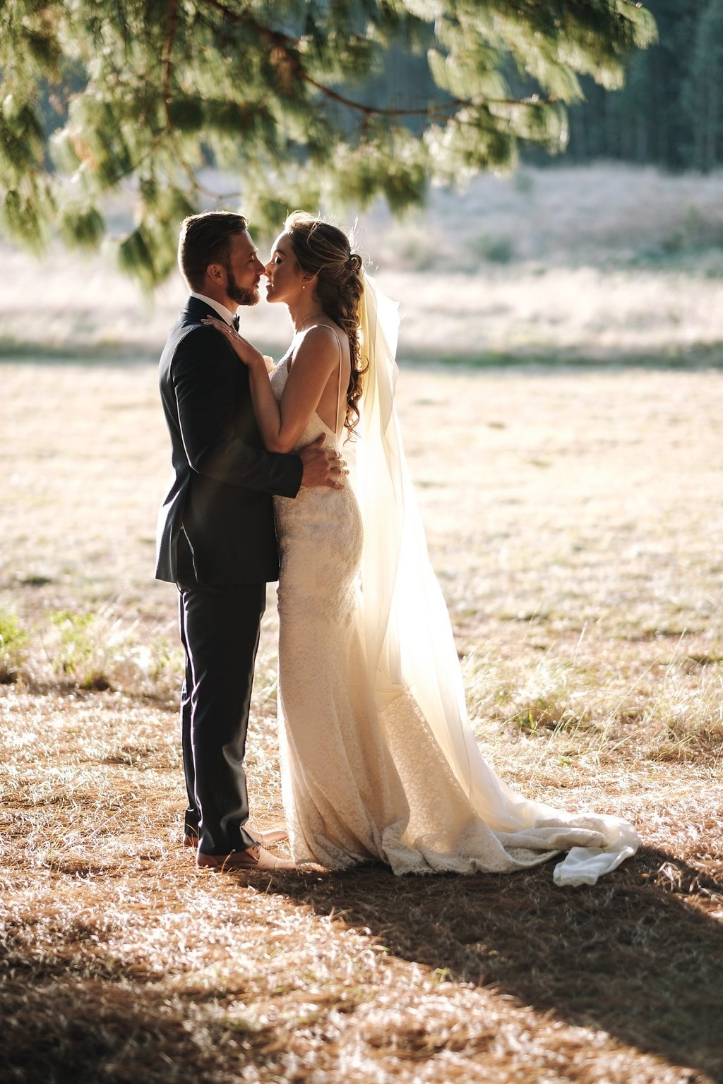 Winter Wedding with Two Gorgeous Gowns | Image: The Shank Tank