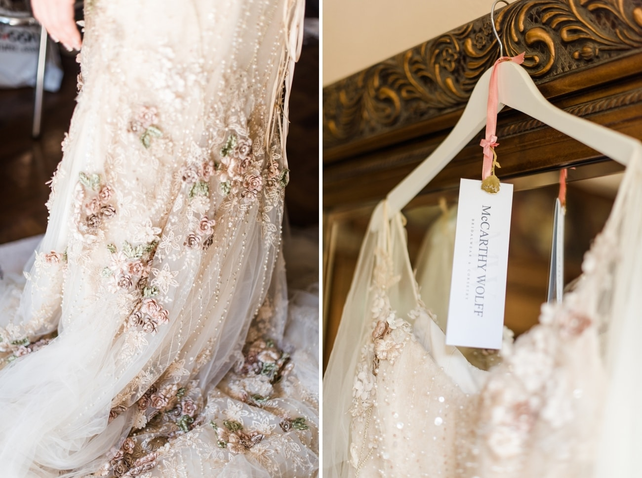 McCarthy Wolff Wedding Dress | Image: Roxanne Davison