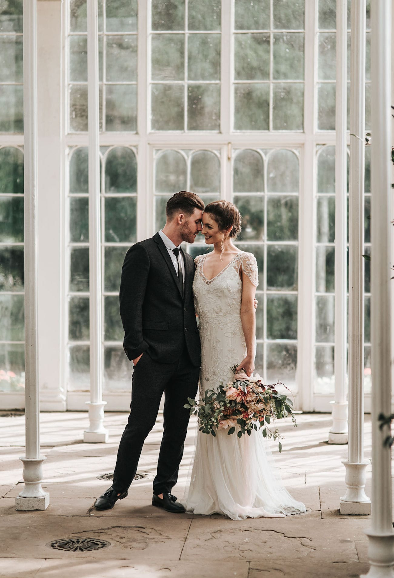 Greenhouse Wedding | Image: Pear & Bear Photography