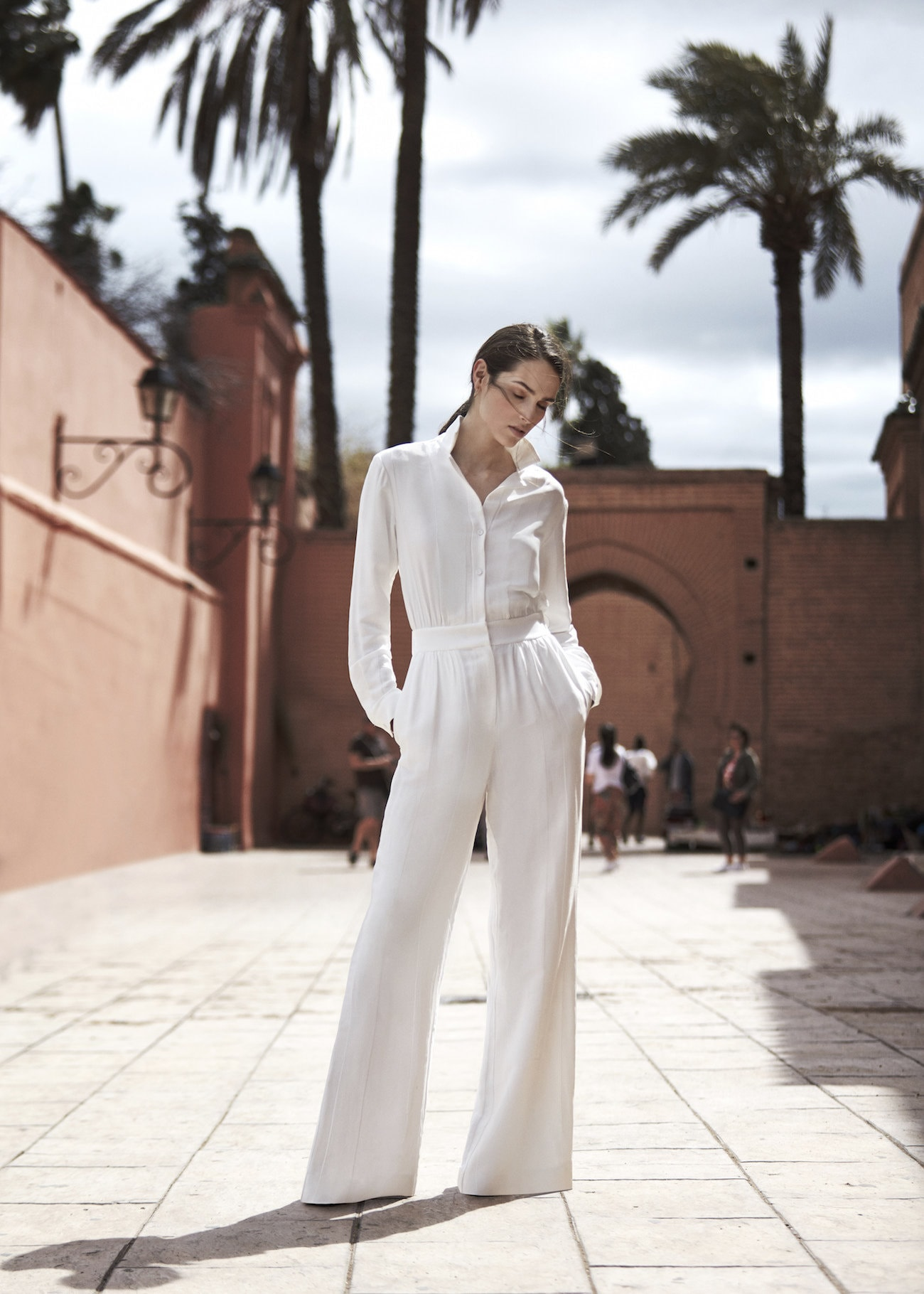 Reiss Juno Wide-leg Jumpsuit Wedding Guest Outfit