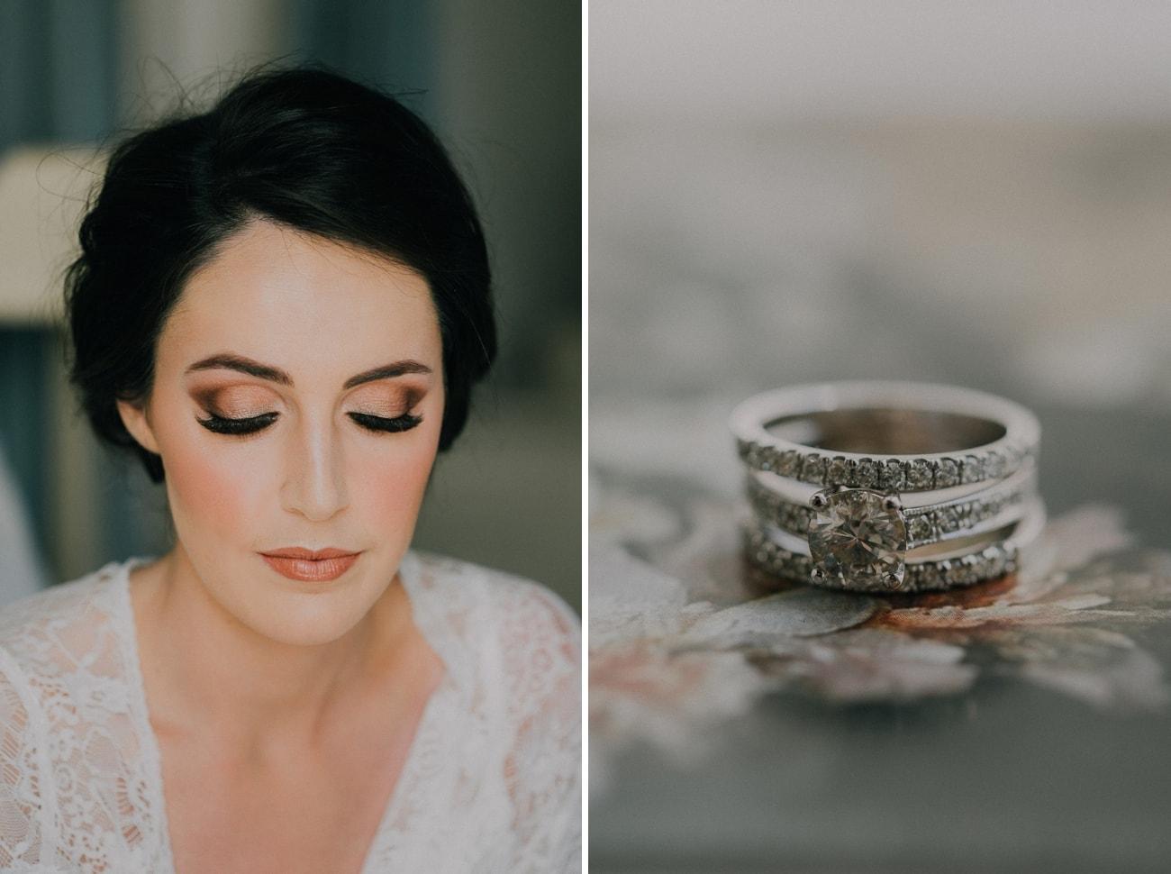 Dramatic Bridal Makeup | Image: Michelle du Toit